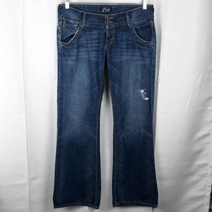 Lucky Brand Kane Lil Maggie Button Fly Bootcut